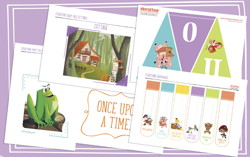 storytime_for_schools_teaching_resources_fairy_tale_deco_pack_www.storytimeforschools.com